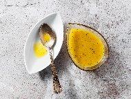 Рецепта Пикантен цитрусов сос от портокалов конфитюр, лимон, чили и соев сос за пиле